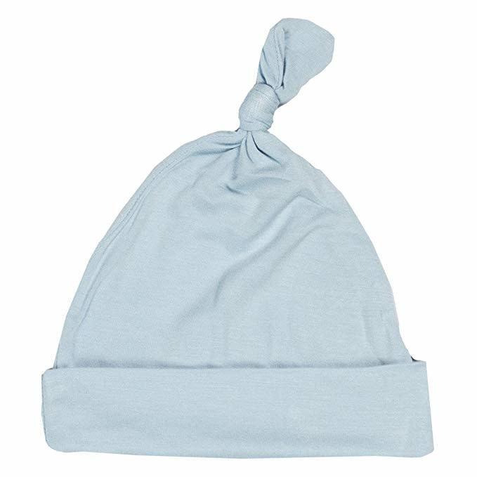Kickee Pants Basic Knot Hat - Pond NB-3m