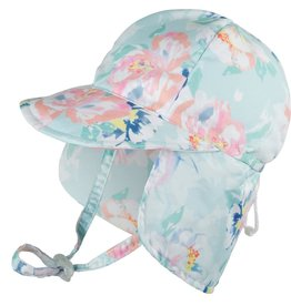 Millymook and Dozer Baby Girls Legionnaire Hat - Peony Mint