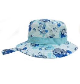 Millymook and Dozer Baby Boys Bucket Hat - Bubble S (0-12m)