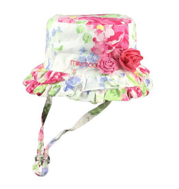 Millymook and Dozer Baby Girls Bucket Hat - Lola Floral L (12-24m)