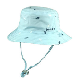 Millymook and Dozer Baby Boys Bucket Hat - Deep Sea Blue