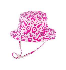 Millymook and Dozer Girls Bucket Hat - Fiona Pink S