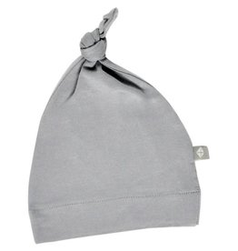 Kyte Baby Knotted Cap in Graphite (NB)