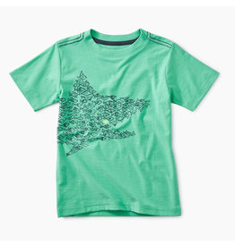 Tea Collection One Big Fish Graphic Tee - Caribbean