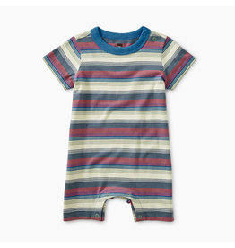 Tea Collection Striped Romper - Grove