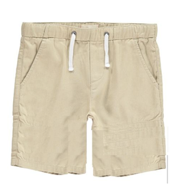 Me + Henry Woven Bermuda Shorts, Stone