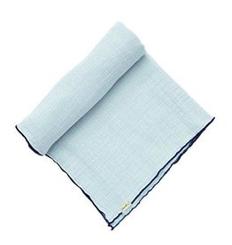Pehr Designs Swaddle, Blue Solid