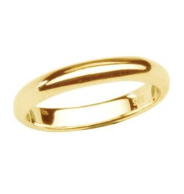 Cherished Moments Baby Ring (Size 2) 14K Gold-Plated - 2mm Band