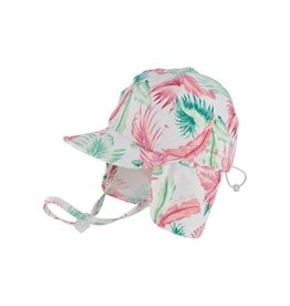 Millymook and Dozer Baby Girls Legionnaire Hat - Kiana White