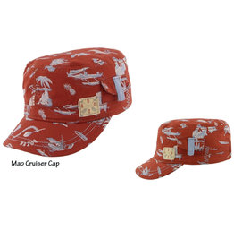 Millymook and Dozer Boys Mao Cap, Cruiser Red