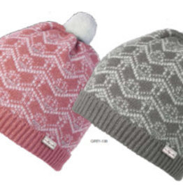 Millymook and Dozer Baby Girls Beanie - Phoebe Pink L (12-24m)