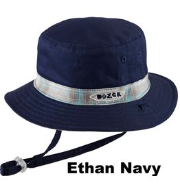 Millymook and Dozer Baby Boys Bucket Hat - Ethan Navy L (12-24m)