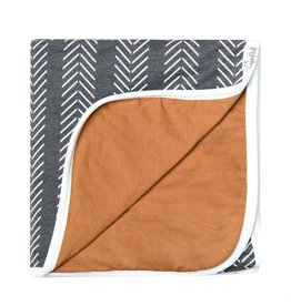 Copper Pearl Three-Layer Stretch Quilt - Canyon