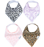 Copper Pearl Bibs - Zara Set - 4 pack