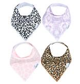 Copper Pearl Bibs - Zara Set - 4 pack