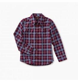 Tea Collection Lakeshore Plaid Button Shirt  2