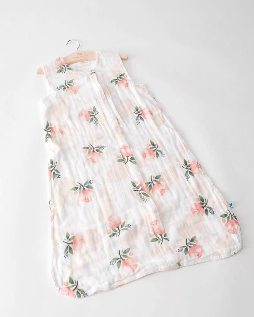Little Unicorn Cotton Muslin Sleep Bag Medium - Watercolor Rose