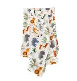 Lou Lou Lollipop Luxe Muslin Swaddle - Safari Jungle