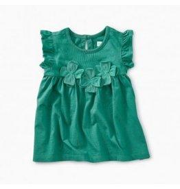 Tea Collection Floral Applique Baby Tunic Dress Laguna