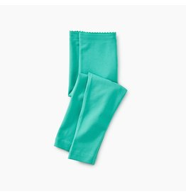 Tea Collection Solid Baby Leggings - Light Laguna