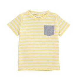 Me + Henry Yellow Stripe Tee