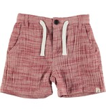Me + Henry Woven Shorts, Red