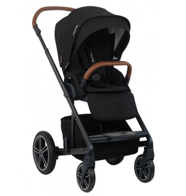 Nuna Nuna 2019 MIXX + Ring Adapter - Caviar Brown Handle