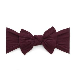 Baby Bling Bows Knot - Burgundy