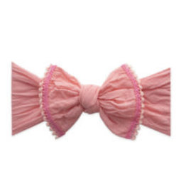 Baby Bling Bows Trimmed Classic Knot (Sorbet)