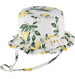Millymook and Dozer Baby Girls Bucket Hat - Lemon Layla L (12-24m)