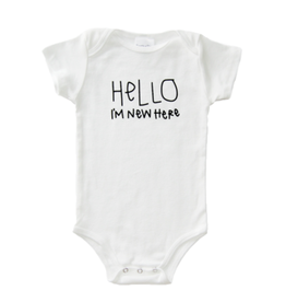 Tenth & Pine Hello, I'm New Here SS 3-6m