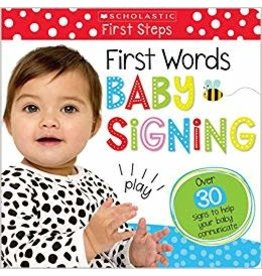 Scholastic First Words Baby Signing