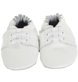 Robeez Soft Soles, Boys Special Occasion White 0-6M