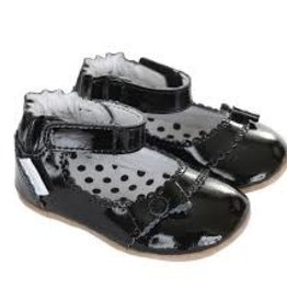 Robeez Mini Shoez, Catherine Black 6-9m