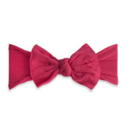 Baby Bling Bows Knot - Cranberry