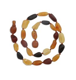 Cherished Moments Baltic Amber Unpolished Beads - Multi, Medium