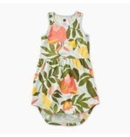 Tea Collection Printed Skirted Tank Dress - Tropical