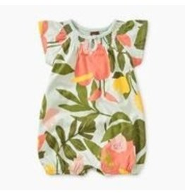 Tea Collection Printed Smocked Romper - Tropical