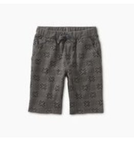 Tea Collection Pattern Cruiser Shorts - Basketweave Geo