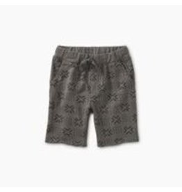 Tea Collection Patterned Cruiser Baby Shorts - Basketweave Geo