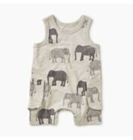 Tea Collection Patterned Tank Romper - Tons of Trunks