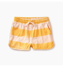 Tea Collection Pom Pom Dolphin Shorts - Painted Stripe