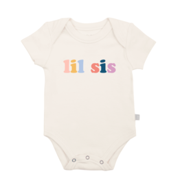 Finn + Emma Little Sis Graphic Body Suit