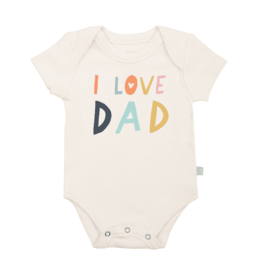 Finn + Emma Love Dad Graphic Bodysuit