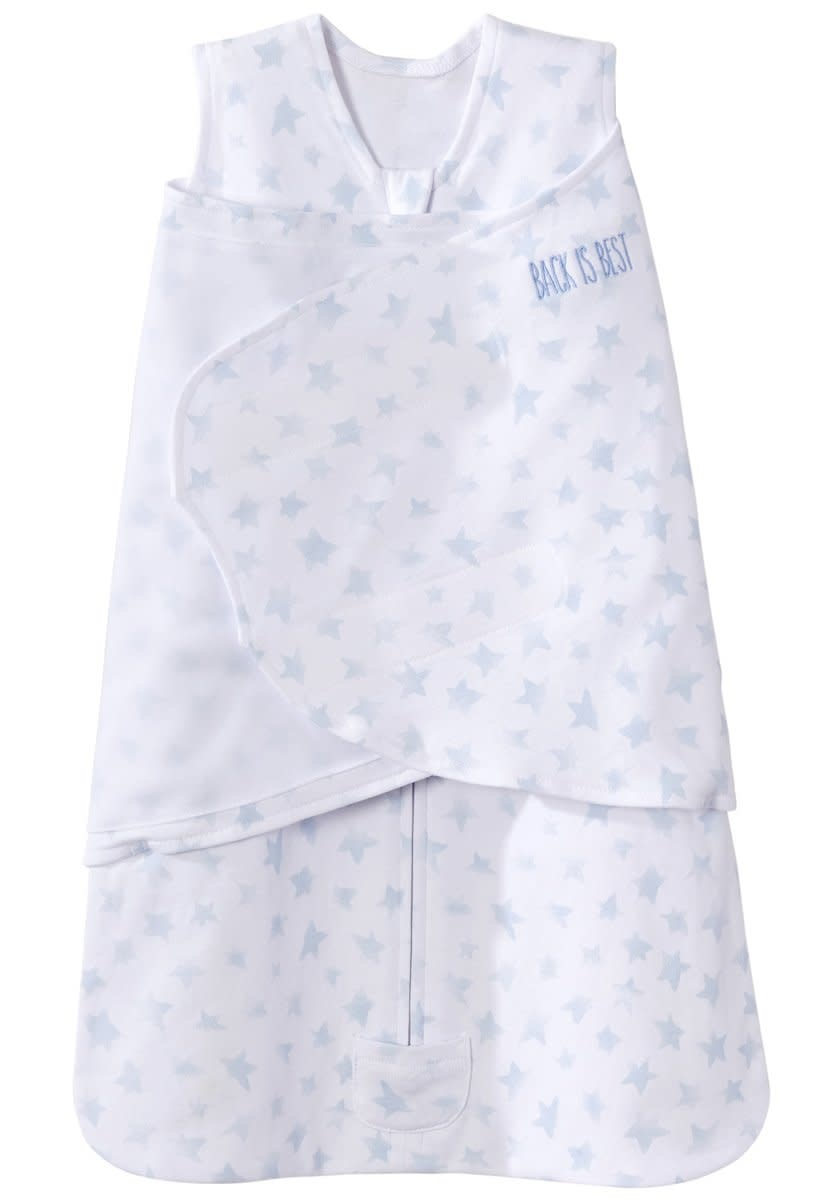 Halo HALO SleepSack Swaddle Platinum Series Twinkle Pale Blue Small