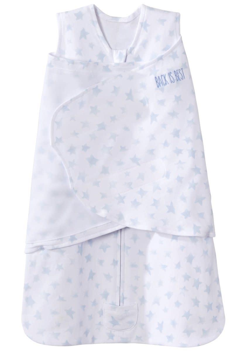 Halo HALO SleepSack Swaddle Platinum Series Twinkle Pale Blue NB Newborn
