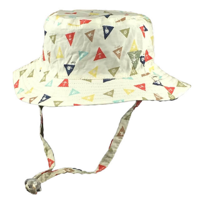 Millymook and Dozer Baby Boys Bucket Hat - Ahoy Multi