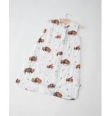 Little Unicorn Cotton Muslin Sleep Bag Medium - Bison