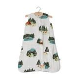 Little Unicorn Cotton Muslin Sleep Bag Medium - Happy Camper