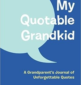 Chronicle Books My Quotable Grandkid Journal